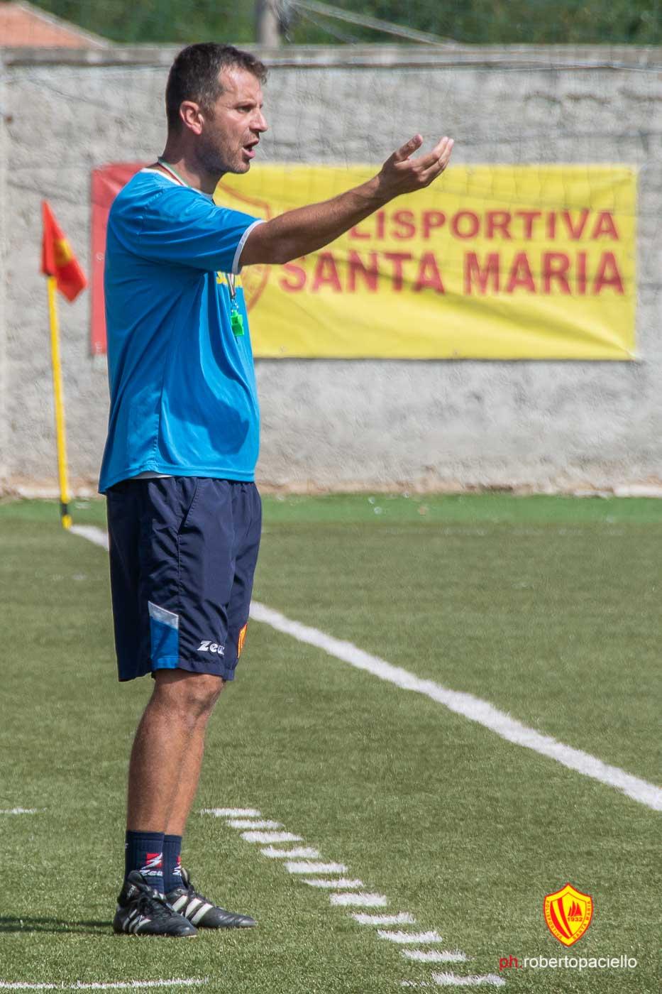 Polisportiva Santa Maria 0-0 Virtus Cilento, la voce di Esposito