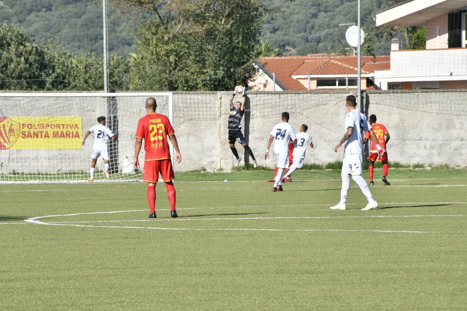 Polisportiva Santa Maria 0-0 FC Messina, la sintesi