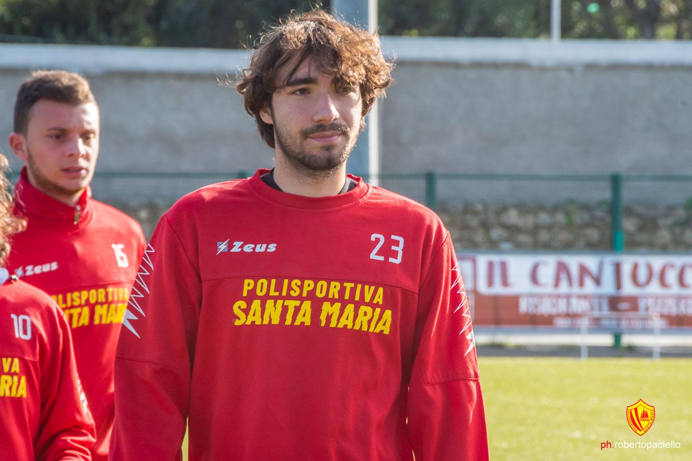 San Luca - Polisportiva Santa Maria, pre-gara con Gianmaria Guadagno