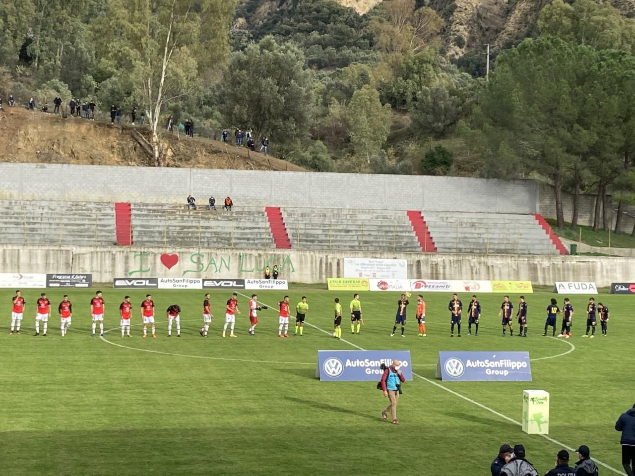 San Luca 0-0 Polisportiva Santa Maria, la sintesi