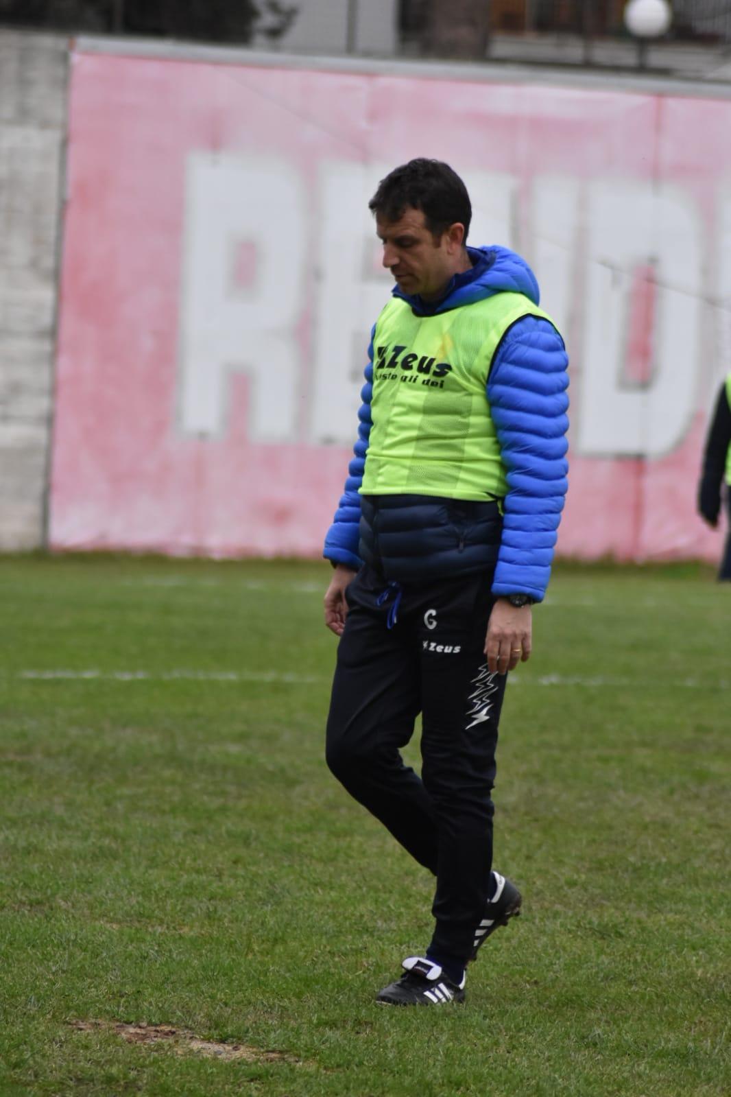 Città di S.Agata 1-0 Polisportiva Santa Maria, post-gara con mister Esposito