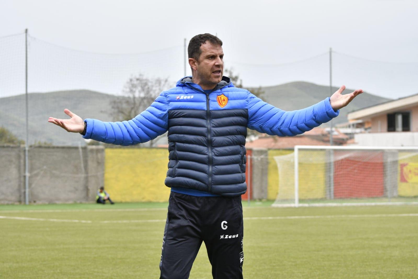 Polisportiva Santa Maria  1-1 Acr Messina, post-gara con mister Esposito