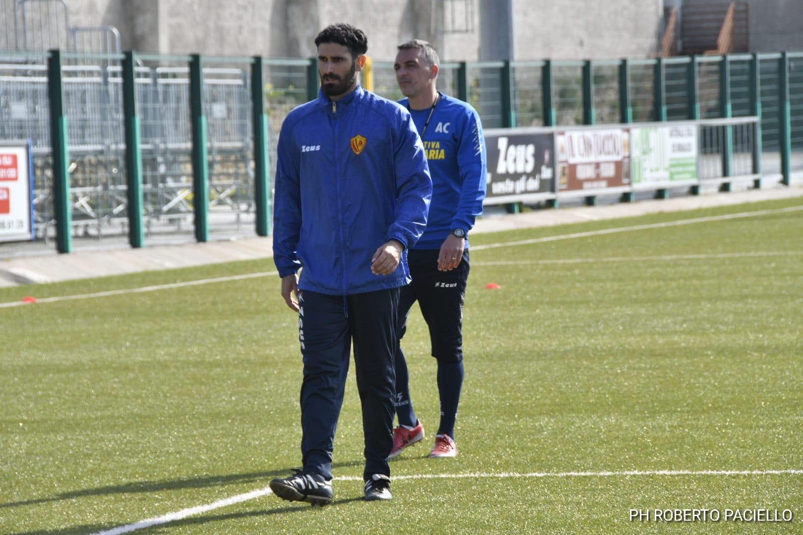 Polisportiva Santa Maria  1-1 Castrovillari, post-partita con Baldassarre
