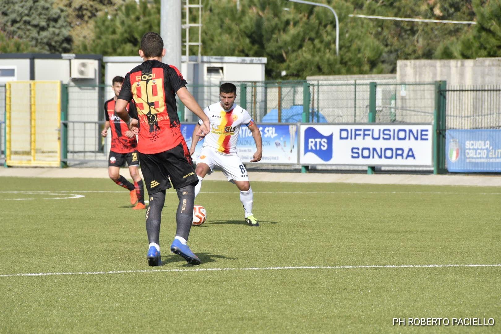 Polisportiva Santa Maria  1-1 Castrovillari, post-partita con Simonetti