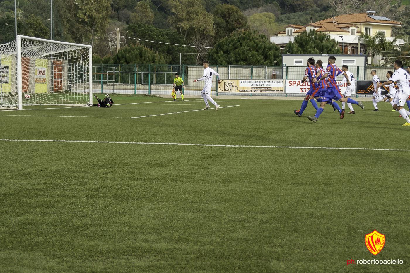 Polisportiva Santa Maria  1-1 Paternò Calcio, la sintesi