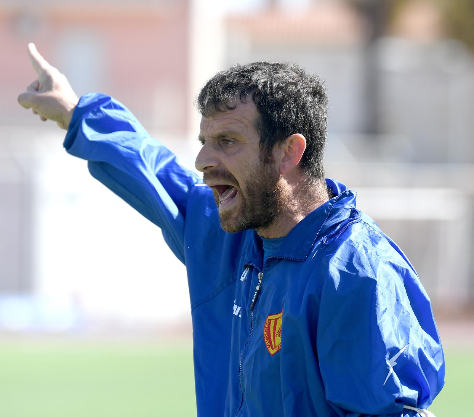 Troina 1-1 Polisportiva Santa Maria, post-gara con mister Esposito