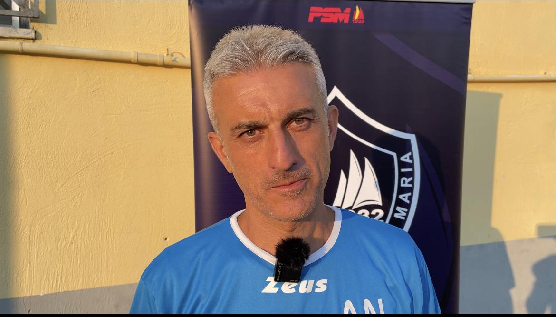 Polisportiva Santa Maria 3-1 Salernum Baronissi, la voce di mister Nicoletti