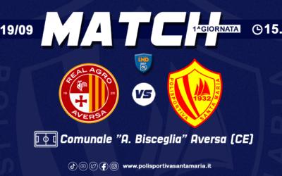 Real Agro Aversa – Polisportiva Santa Maria, biglietti in vendita