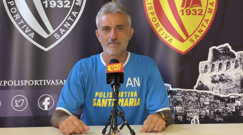 Polisportiva Santa Maria 0-0 FC Lamezia Terme, post-gara con Nicoletti