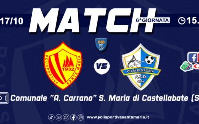 Polisportiva Santa Maria – Città di S'Agata, al via la prevendita dei biglietti